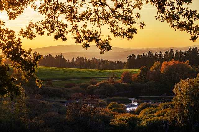 Złota jesień wgórach